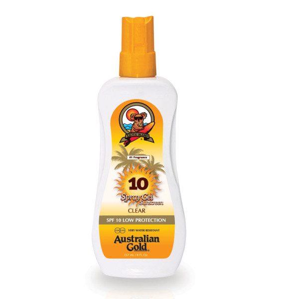 Sprej gel za sončenje za zaščito pred soncem z zaščitnim faktorjem 6