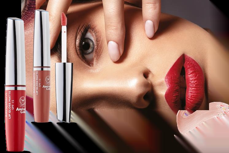 Lip Gloss za ustnice - Seductive Red matte SPF15